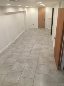 Surge Construction and Restoration basement remodeling