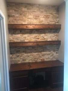 Surge Construction and Restoration wall remodel