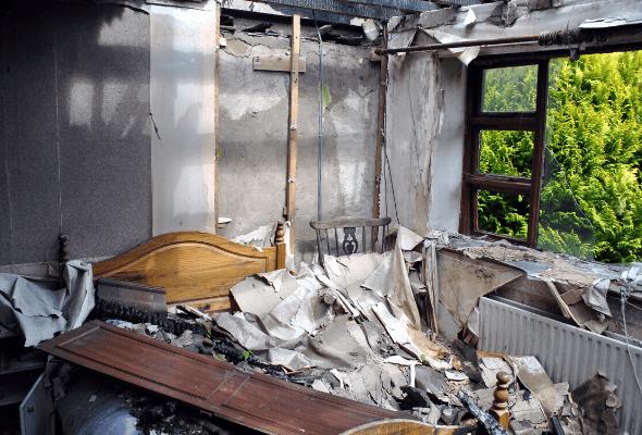Surge Construction Fire Damage Restoration